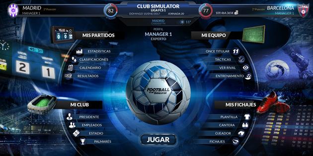 football club Simulator fcs descargar fx store oferta videojuegos pc español simulador futbol estrategia
